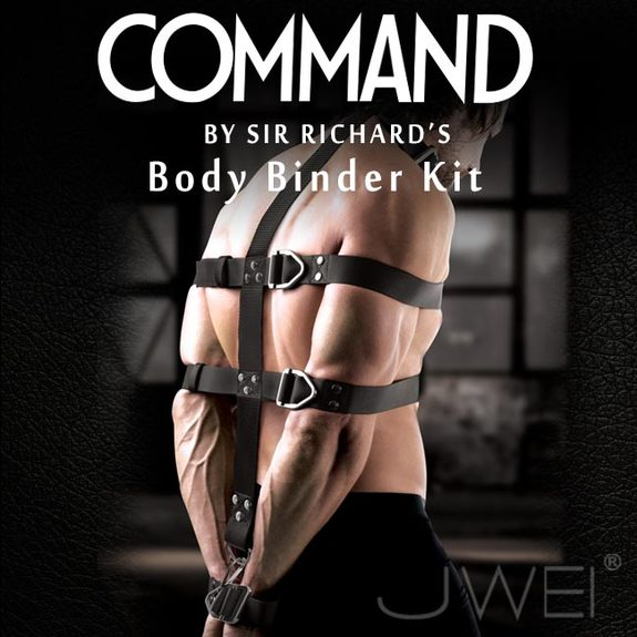 美國原裝進口PIPEDREAM.COMMAND Sir Richards命令系列 Body Binder Kit 身體束縛SM頂級套組