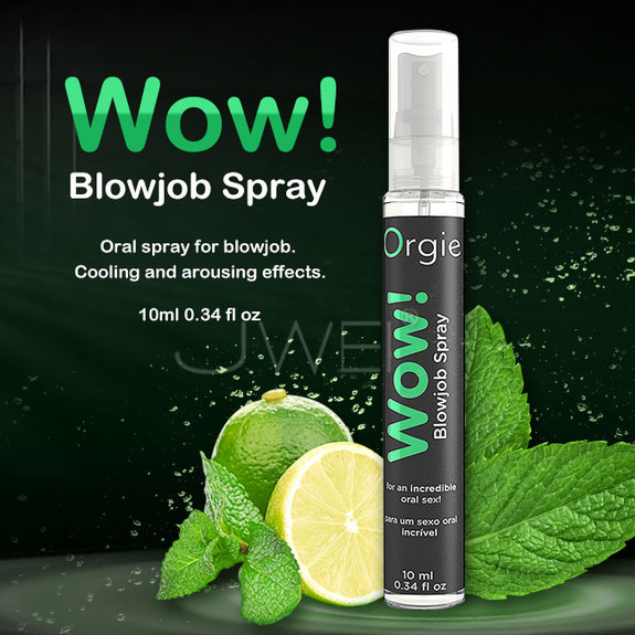 葡萄牙Orgie.WOW! Blowjob Spray 口愛興奮薄荷清新噴霧-10ml